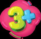 Age 3+