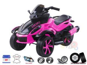 Pink Junior Sport Edition 12V Ride On ATV