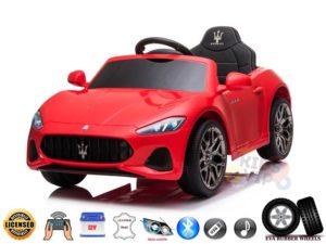 Red Maserati GranCabrio Sport Edition ride on car